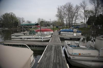 Boats at the docks