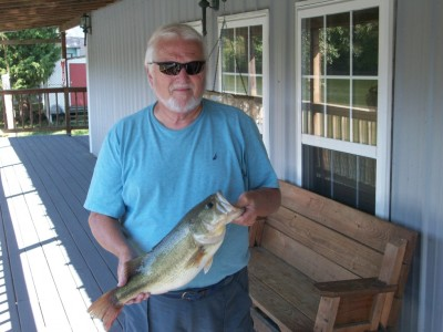 5 lb. 4 oz. Large Mouth Bass