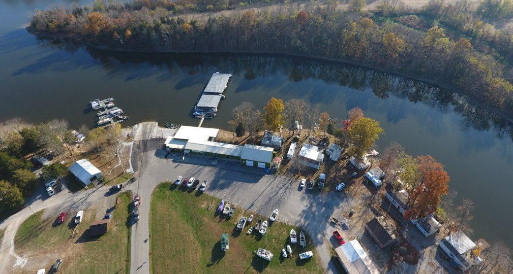 Aerials of Guist Creek